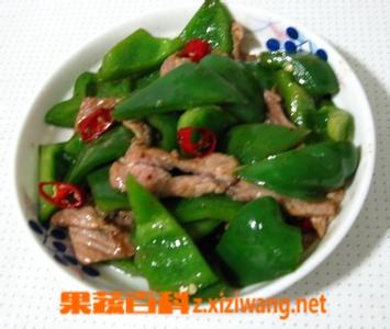 果蔬百科尖椒炒肉